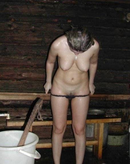 Эротика в бане с горячими девками