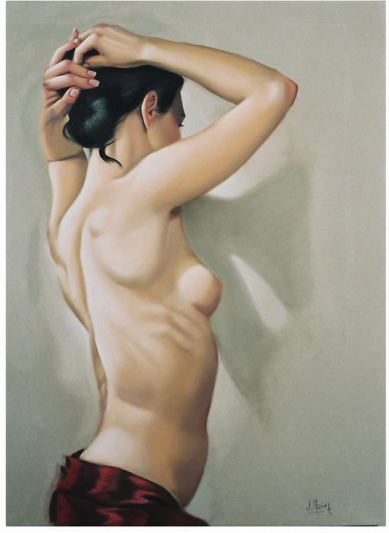 10 Рисованные голые девушки эро художников