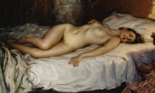 5 Рисованные голые девушки эро художников