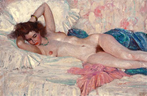 8 Рисованные голые девушки эро художников