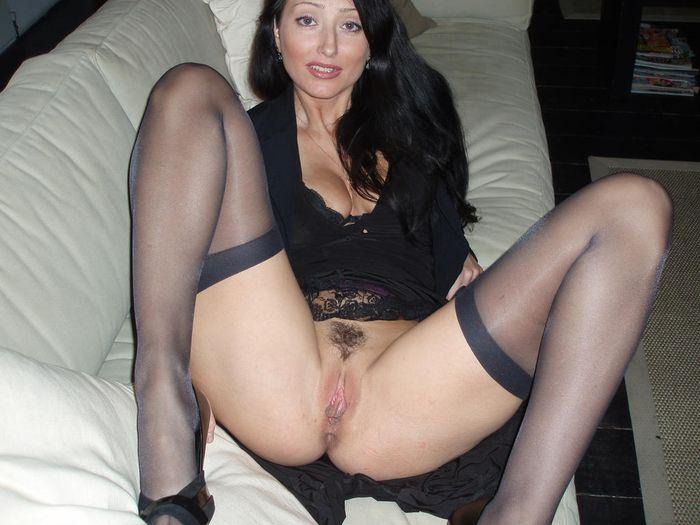 частное фото зрелые женщины в чулках