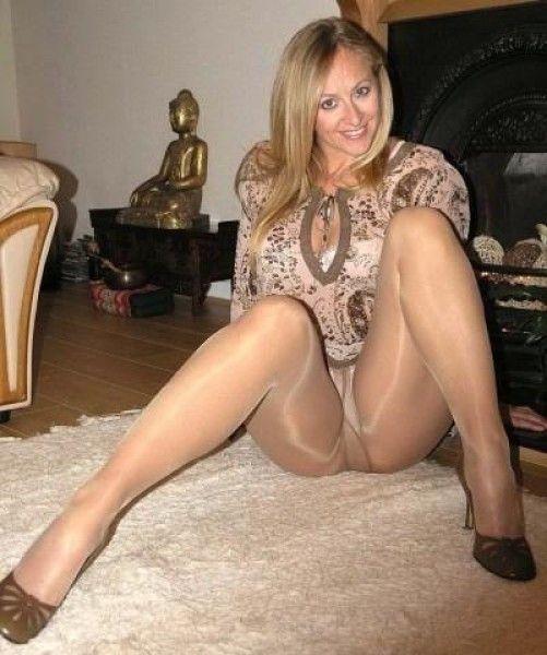 ножки в колготах частное фото