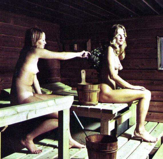Русские в сауне культурно отдыхают